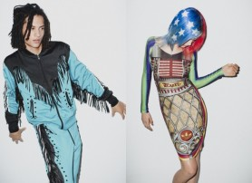 Adidas Originals & Jeremy Scott & kolekcja wiosna/lato 2012 lookbook