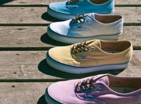 Vans California Authentic CA 'Brushed Twill' Pack Spring 2012